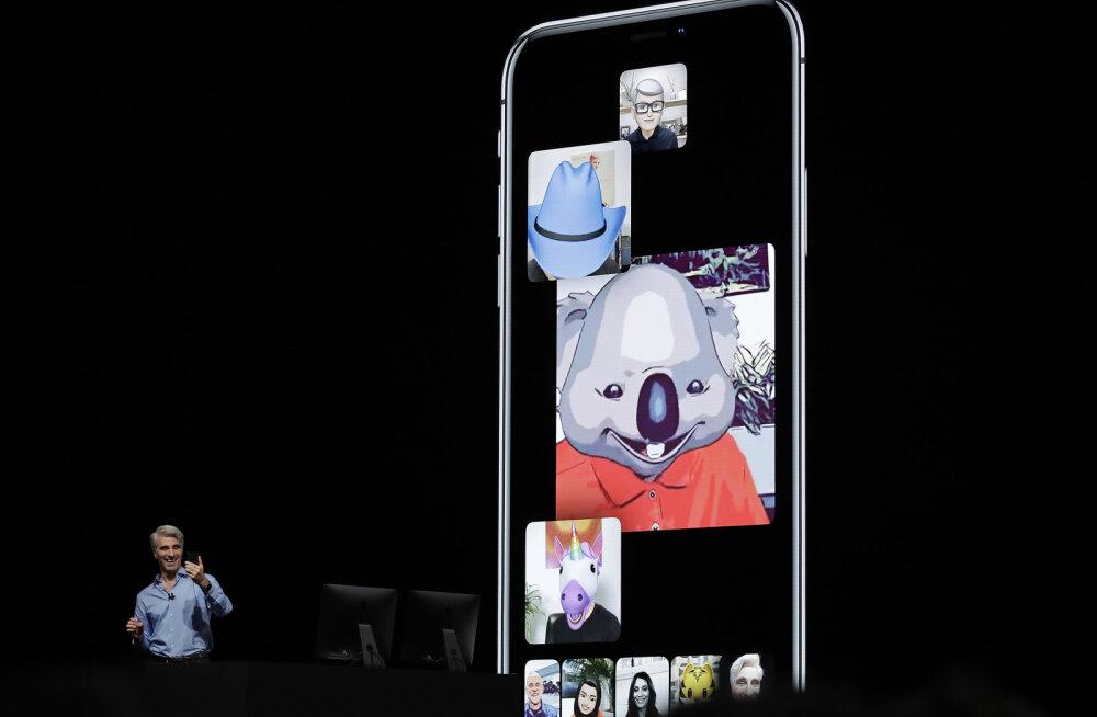 Apple keelas tõsise turvavea tõttu oma suhtlusplatvormil grupivideokõned