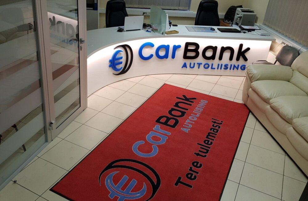 CarCapital OÜ on Edukas Eesti Ettevõte, mis tegutseb patenteeritud CarBank kaubamärgi nime all pakkudes autoliisingut klientidele, kellel on olemas omafinantseeringu summa alates 10% ostetava sõiduki reaalsest turuväärtusest.