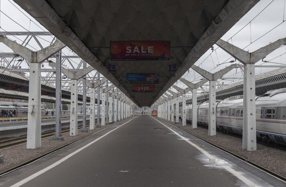 В России объявили о начале движения поездов из Москвы и Петербурга в Крым