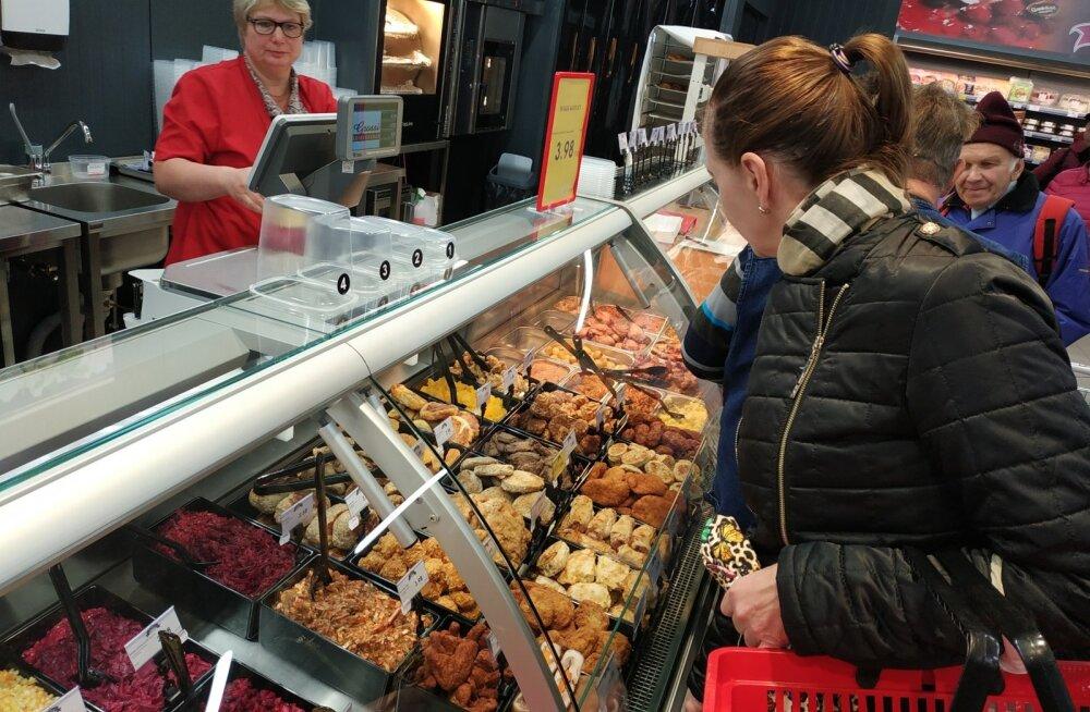 Uuendatud kaupluse Grossi Toidukaubad avamine Jüris, 19. oktoober 2018