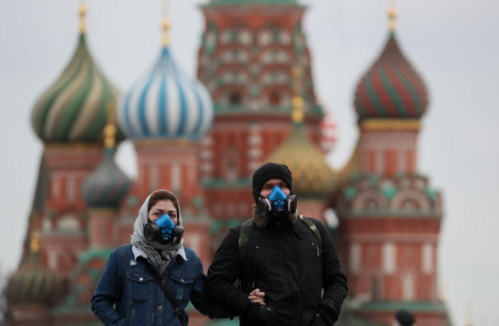 Kreml: Moskva sulgemist koroonaviiruse tõttu ei arutata