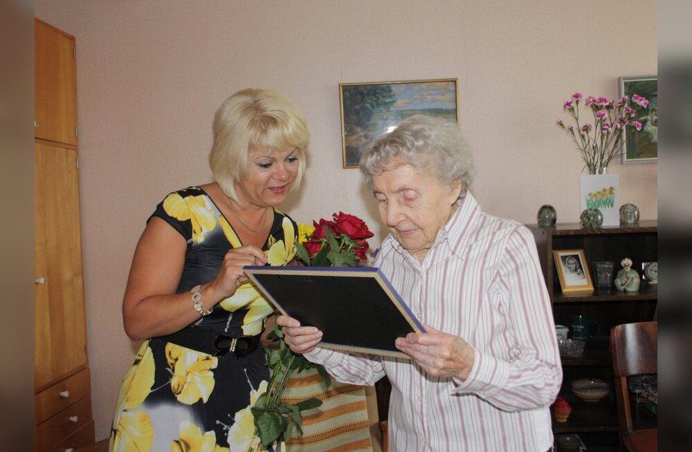 Hilja Käit 101: Lasnamäel elab 8 üle saja-aastast inimest, Eestis kokku 177