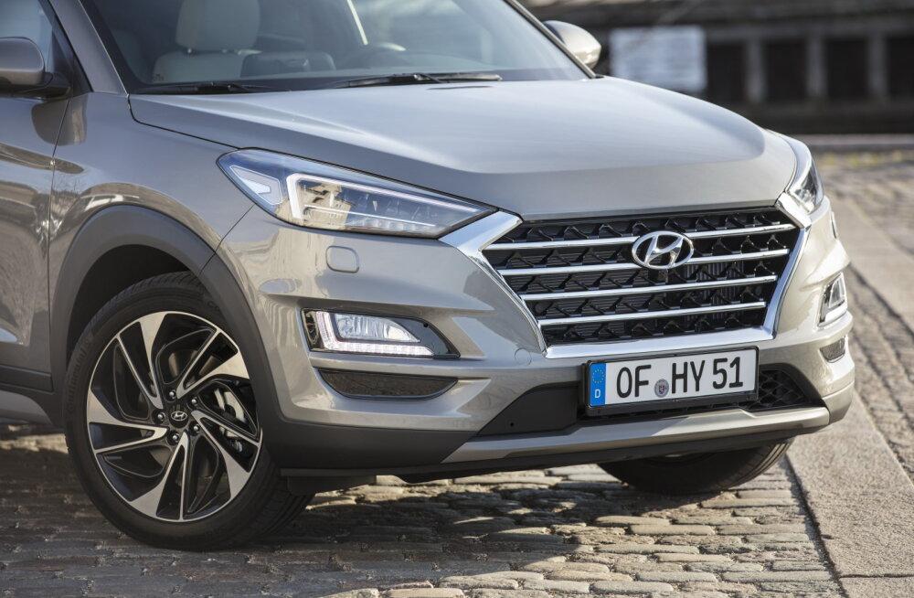Proovisõit: Hyundai Tucson - nüüd ka iselaadiva hübriidajamiga