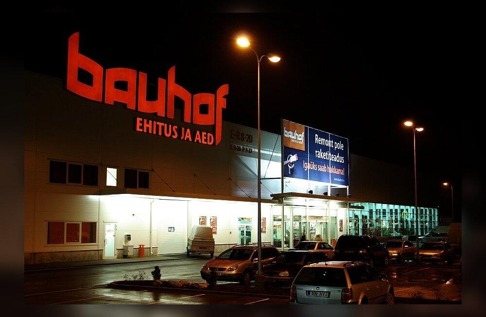 Bauhof скупил магазины Ehitusmarket