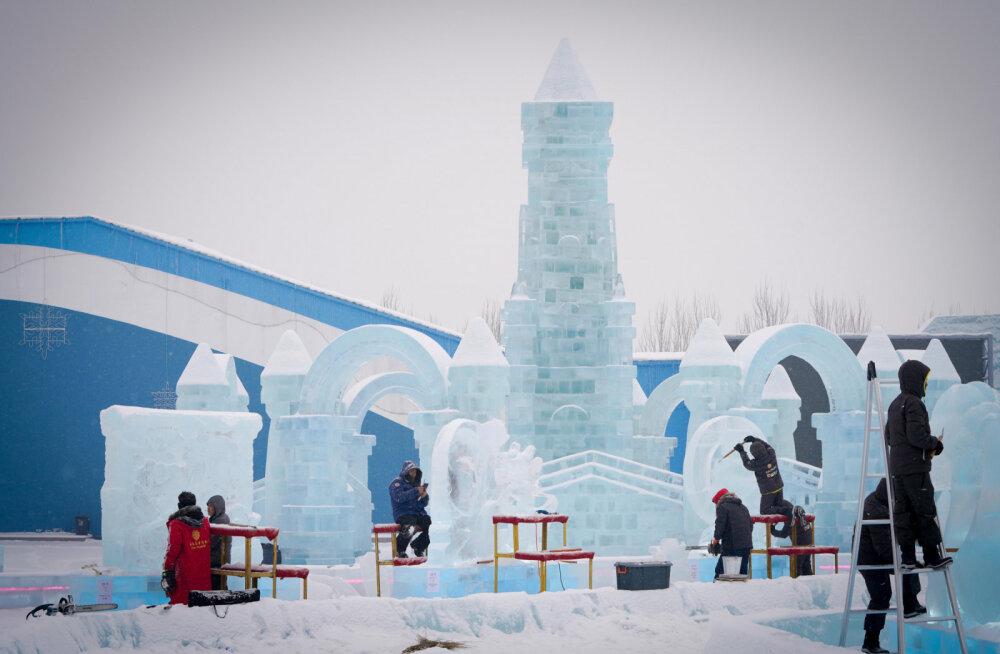 ФОТО. В Харбине построили гигантский город из снега и льда