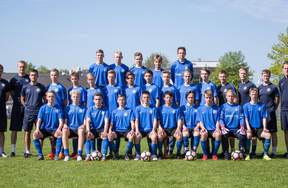 Eesti U16 jalgpallikoondis