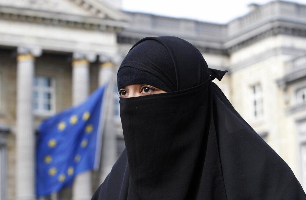 Где в Европе запрещено носить паранджу