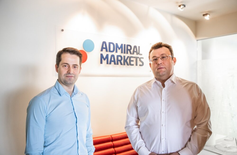 Dmitri Lauš ja Alexander Tsikhilov loovad tuleviku kauplemiskeskkonda.
