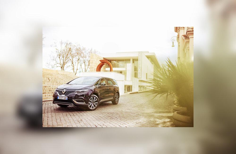Proovisõit: Renault Espace – viis ühe, üks viie eest!