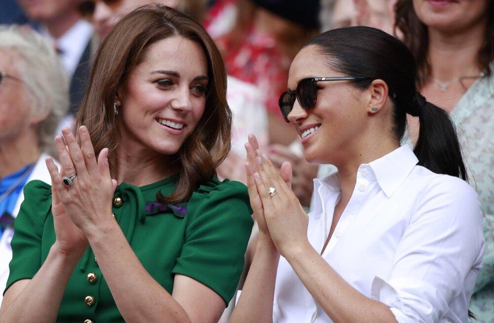 Meghani fännid kaaperdasid Kate Middletoni veebiülekande ja kukkusid hertsoginnat kritiseerima