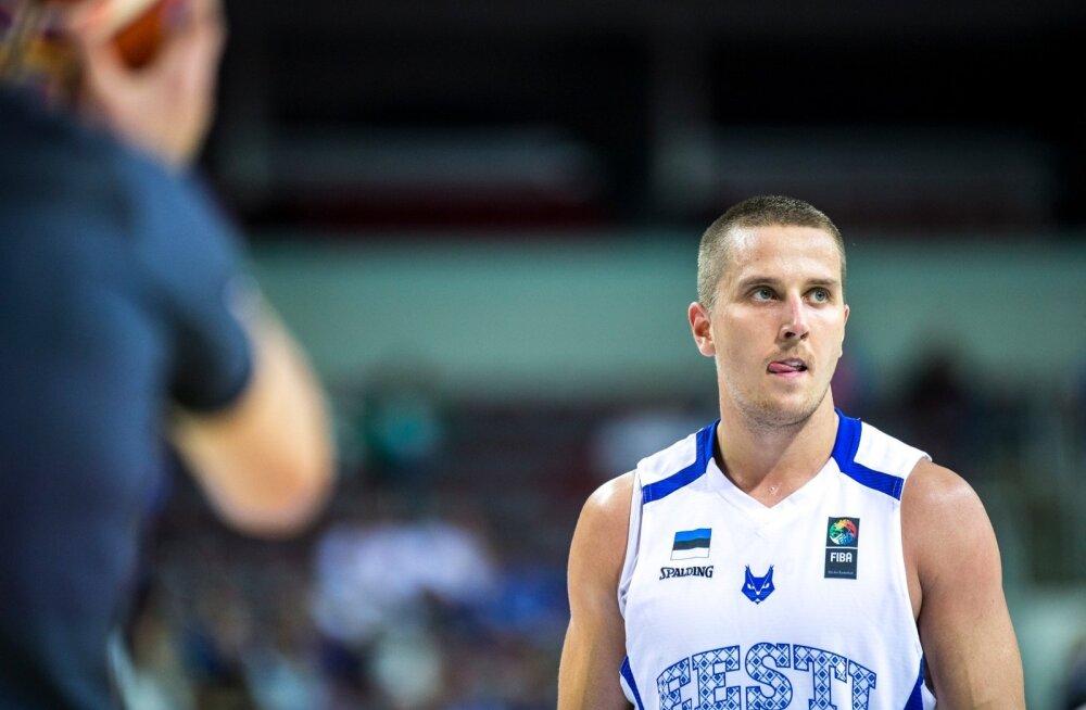Eesti korvpallikoondise liige Rain Veideman