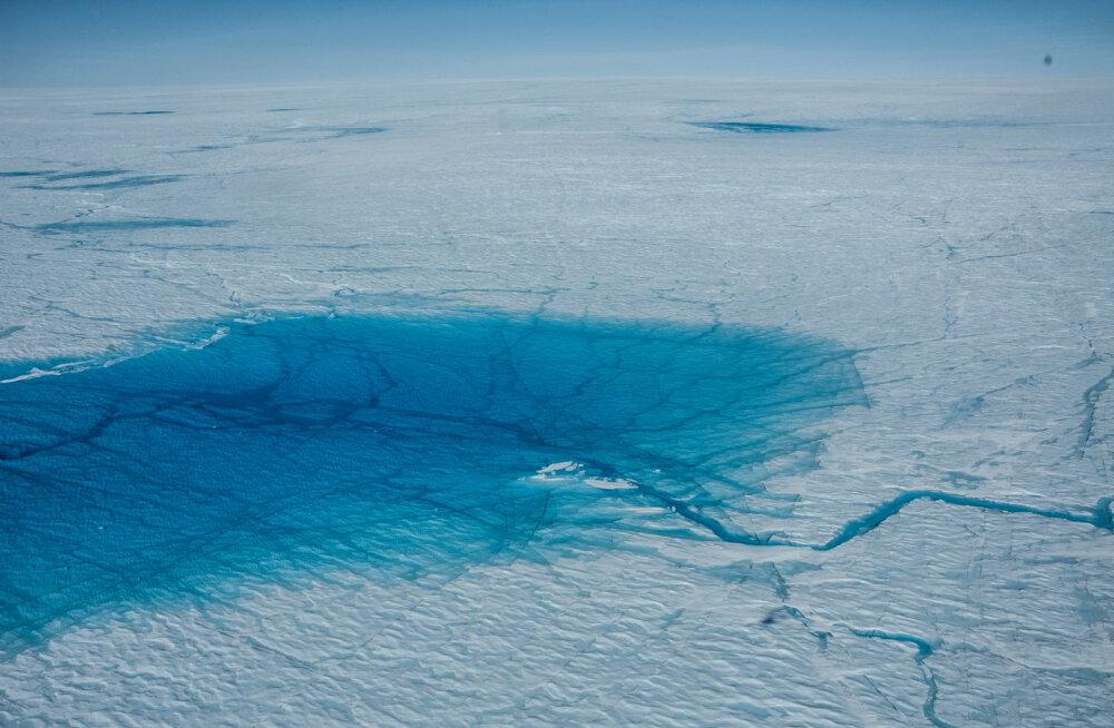 Gröönimaa suvine sula algas sel aastal murettekitavalt hoogsalt