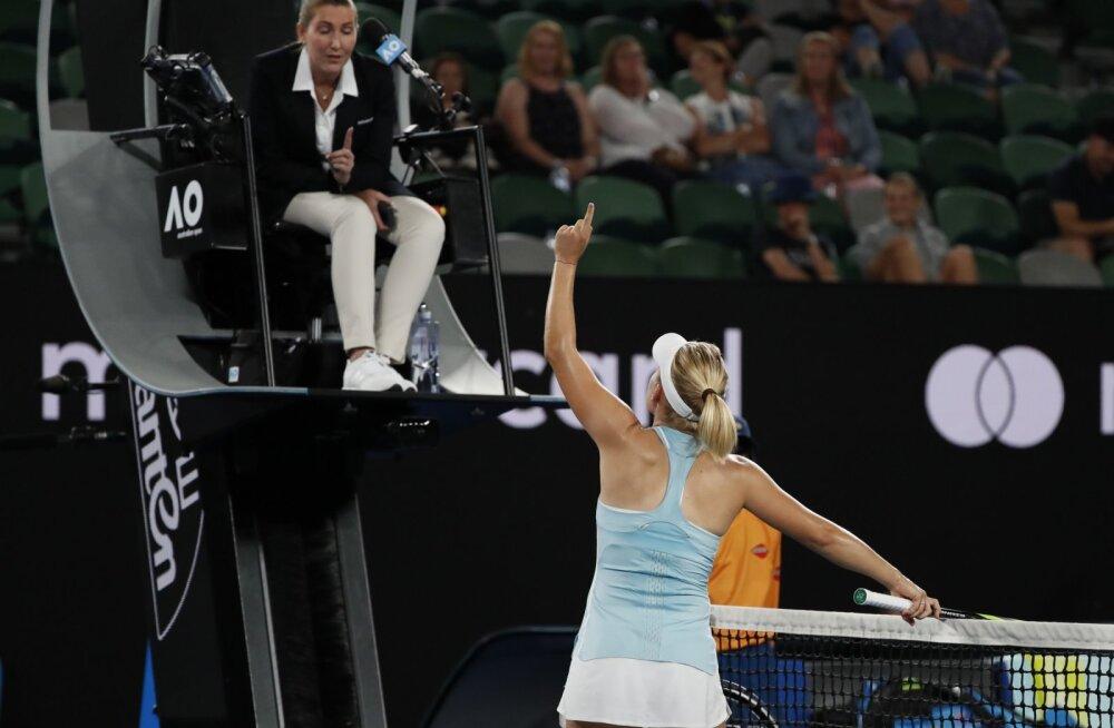 VIDEO | Austraalia lahtistel kella kaheni öösel kestnud tennisematšis puhkes skandaal
