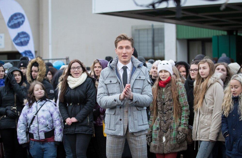 Superstaari eelvoor Tallinnas