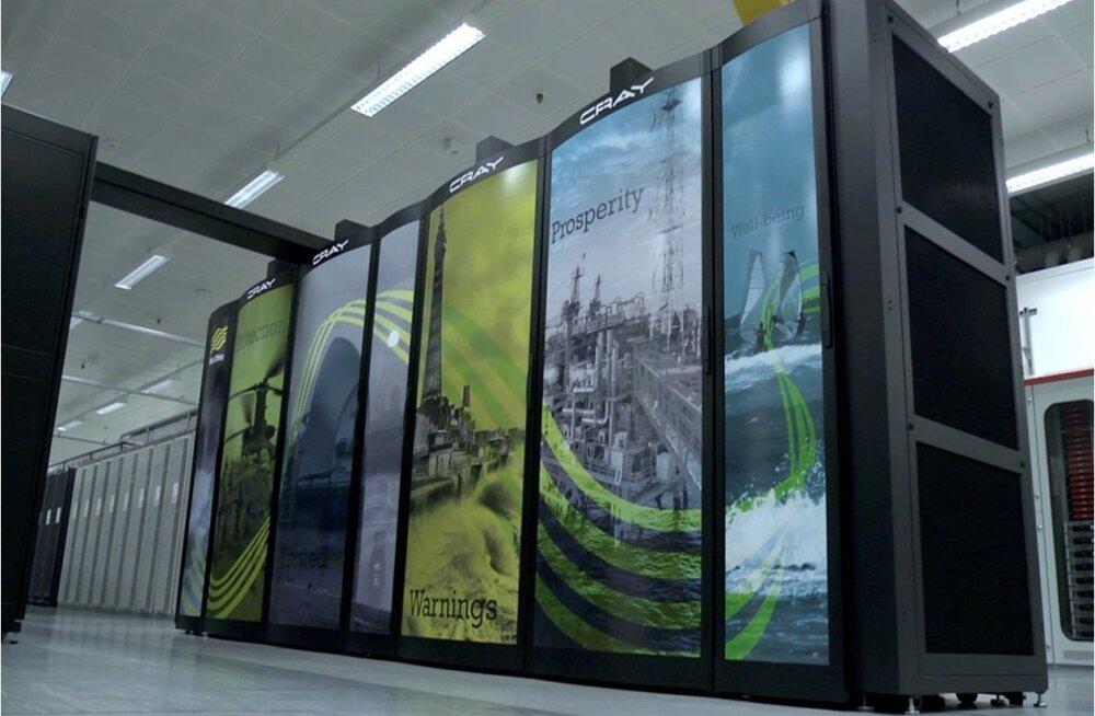 Britid ostavad uskumatult kalli ilma ennustava superarvuti
