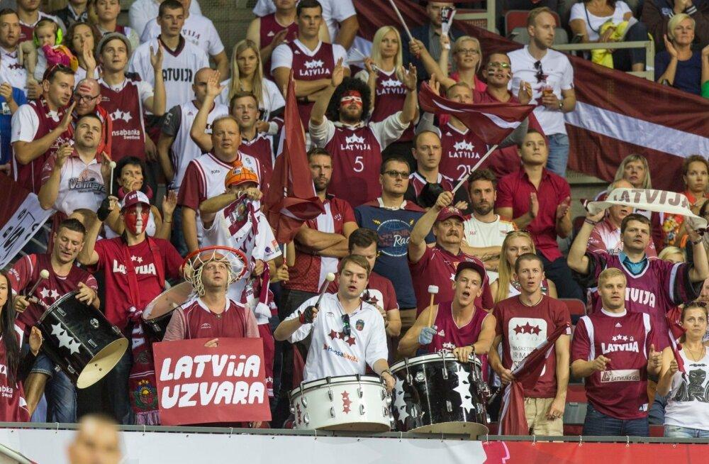 Korvpall. Eesti vs Läti 2015.09.10