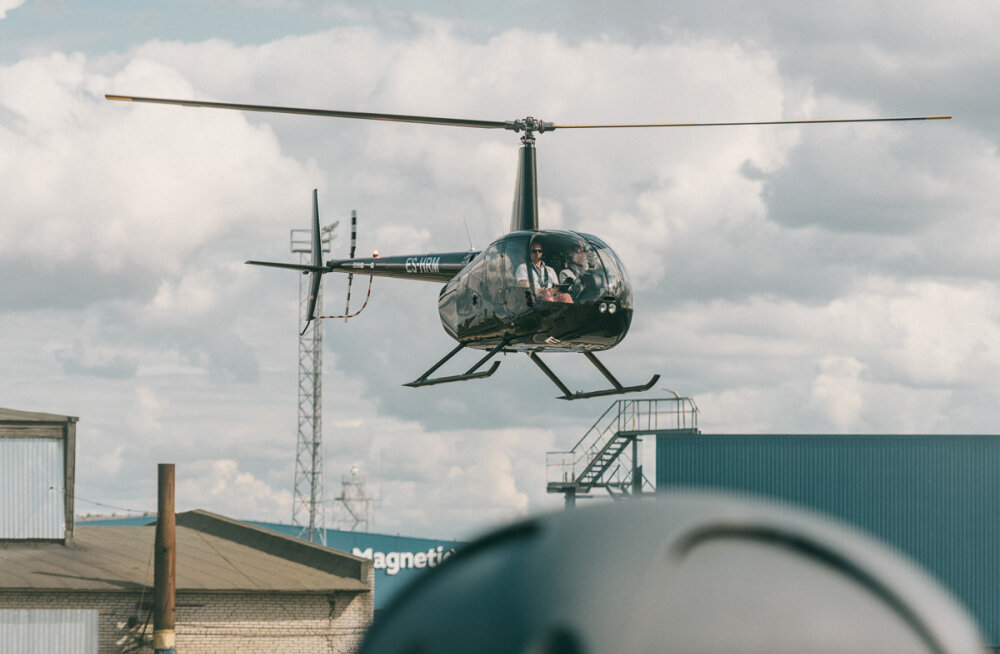 VIDEO   Nublu ja Reket saabusid eksklusiivsele kontserdile helikopteriga