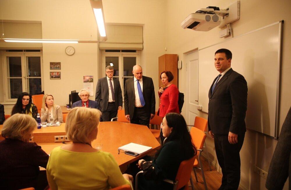 Keskerakonna piirkonna juhatuse ja volikogu fraktsiooni kohtumine