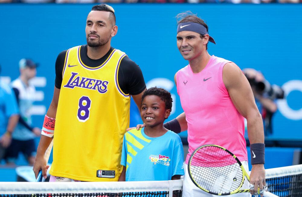 Kyrgios kutsub Nadali üles Instagram Live'is erimeelsused lahendama
