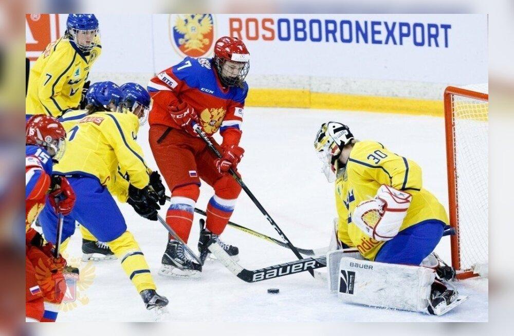 15-aastane Tartu hokimängija pääses Venemaa koondisesse