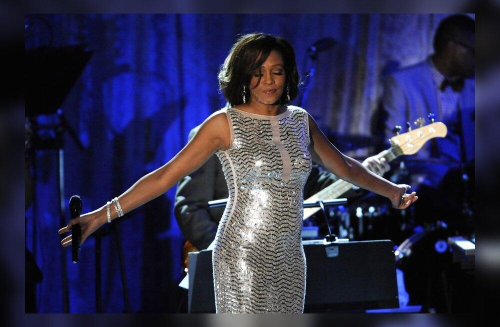 Whitney Houstonit meenutatakse Eestis galakontsertidega