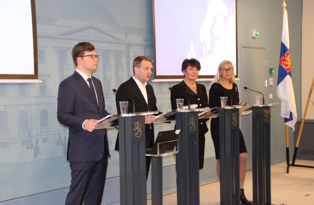 Андрей Новиков и Кадри Симсон приняли участие во встрече на тему Rail Baltic