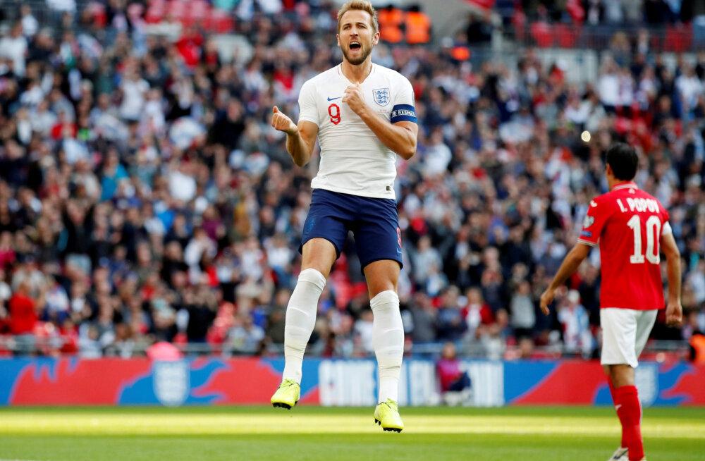 EM-valiksari: Harry Kane'i kolm väravat aitasid Inglismaa suure võiduni, rõõmu sai tunda ka Ronaldo