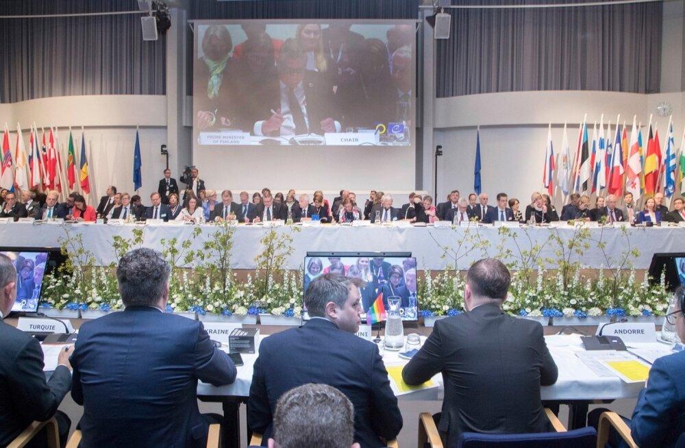Euroopa Nõukogu kohtumine