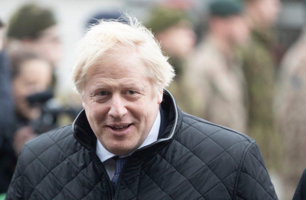 Briti peaminister Boris Johnson.