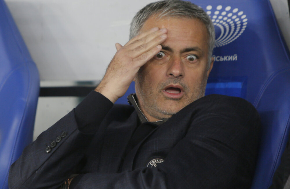 Mourinho andmata jäänud penaltist: kohtunik oli nõrk ja naiivne