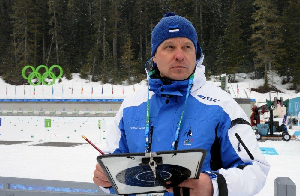 Eesti laskesuusatajate peatreener HILLAR ZAHKNA