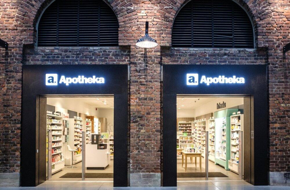 Apotheka apteek Arsenali keskuses
