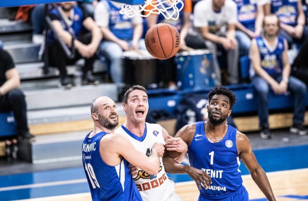 Korvpall. Kalev Cramo vs Peterburi Zenit