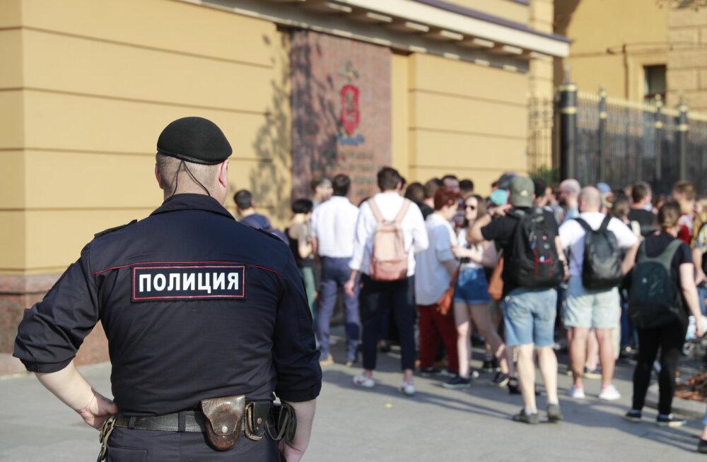 Moskva rajooni narkopolitsei juht võeti uimastite omamise eest kinni