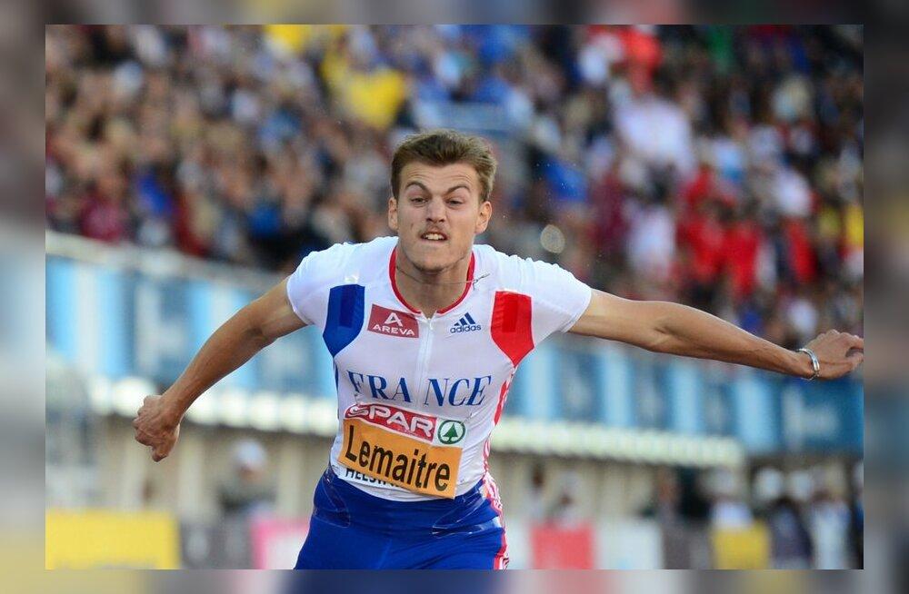 FOTOD: EMi teise päeva medalid: Lemaitre kaitses tiitlit, kõrgushüppes jagati 5 medalit