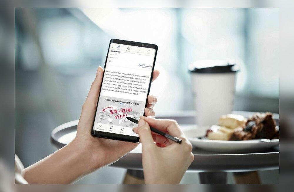 AM muljetab: Samsung Galaxy Note8 – tõenäoliselt üks parimaid telefone, mis müügil