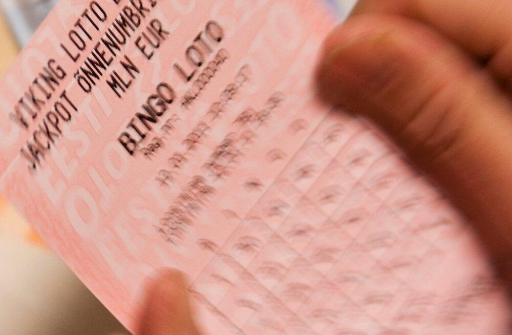 Bingo lotos võideti täna üle 380 000 euro! Pilet osteti ühest Grossi poest