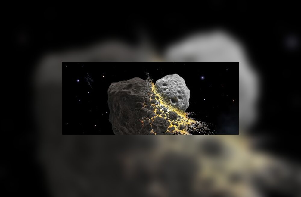 Vesi saabus Maale asteroididega