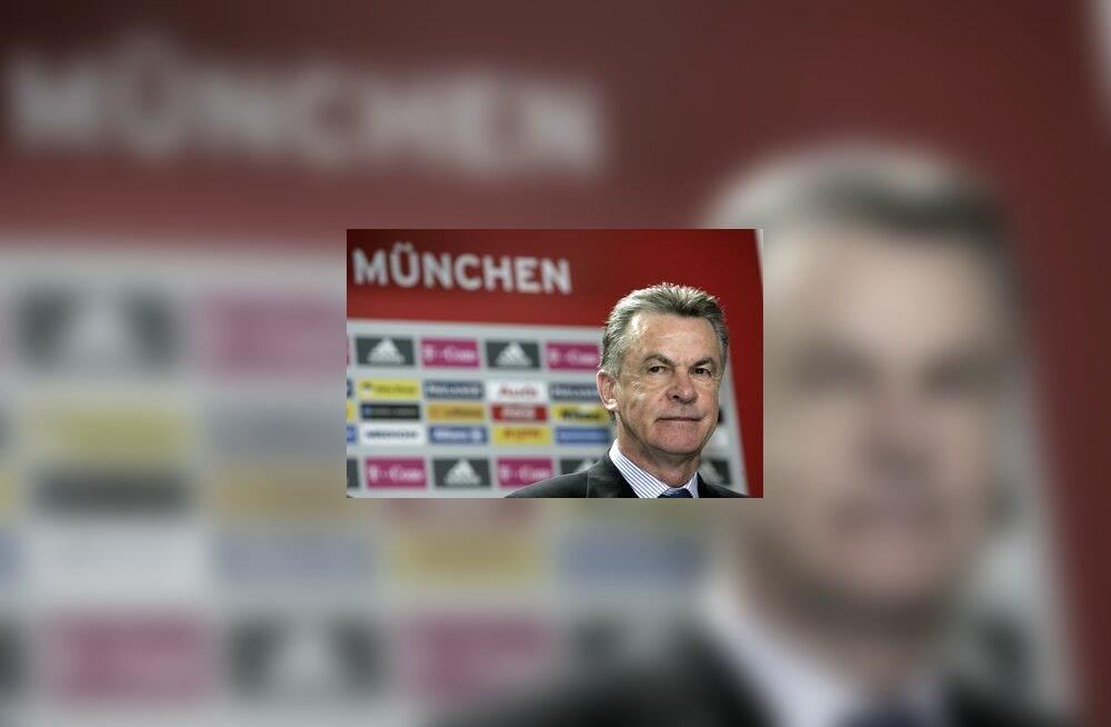 Bayerni peatreener Ottmar Hitzfeld