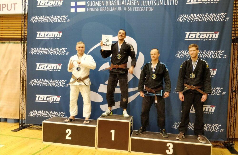 Soome lahtised meistrivõistlused Brasiilia jiu-jitsus – kullasära jäi sinna, Eestisse tuli kolm hõbe- ja kolm pronksmedalit