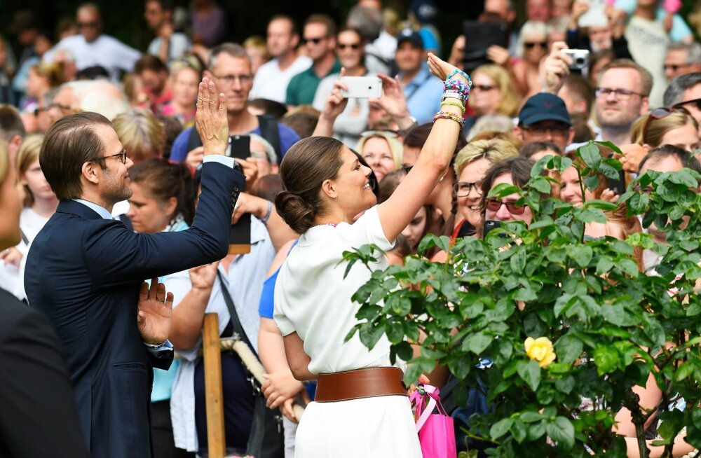 Kroonprintsess Victoria tähistas sünnipäeva