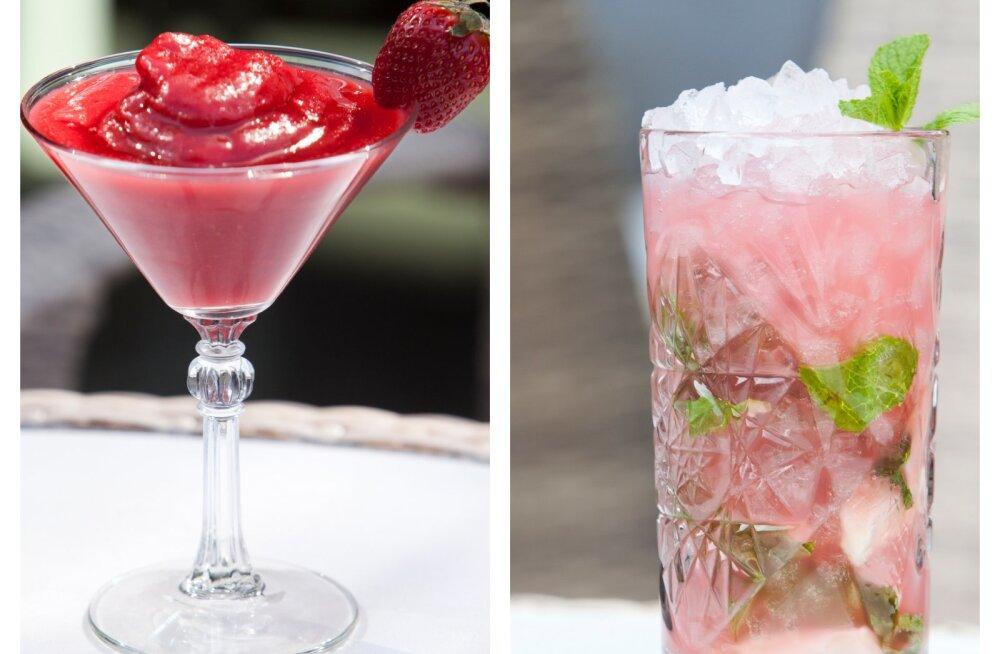 Lase end lõdvaks — kaks suvist kokteili, mida sõpradega nautida
