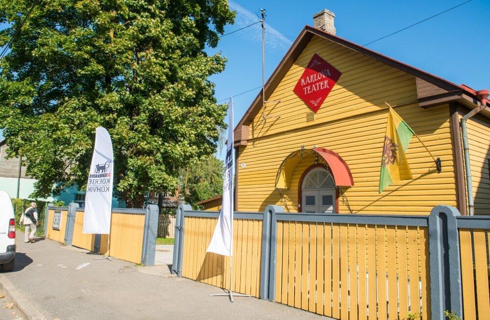 Koerte kohvik Karlova teatri aias