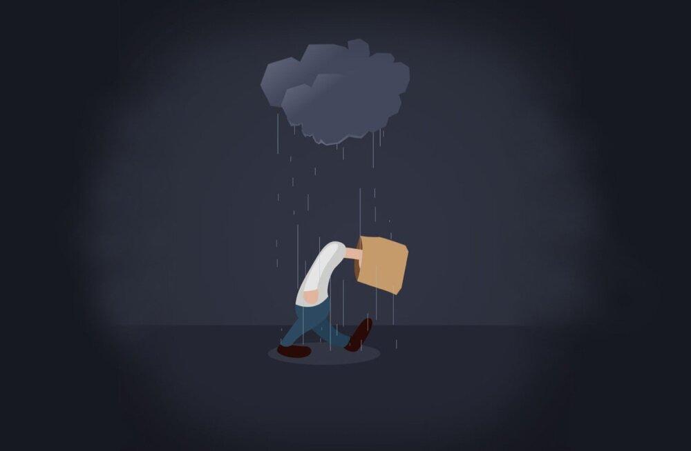 Õnnehormoonide kriis: depressioon tabab igal aastal tuhandeid eestlasi