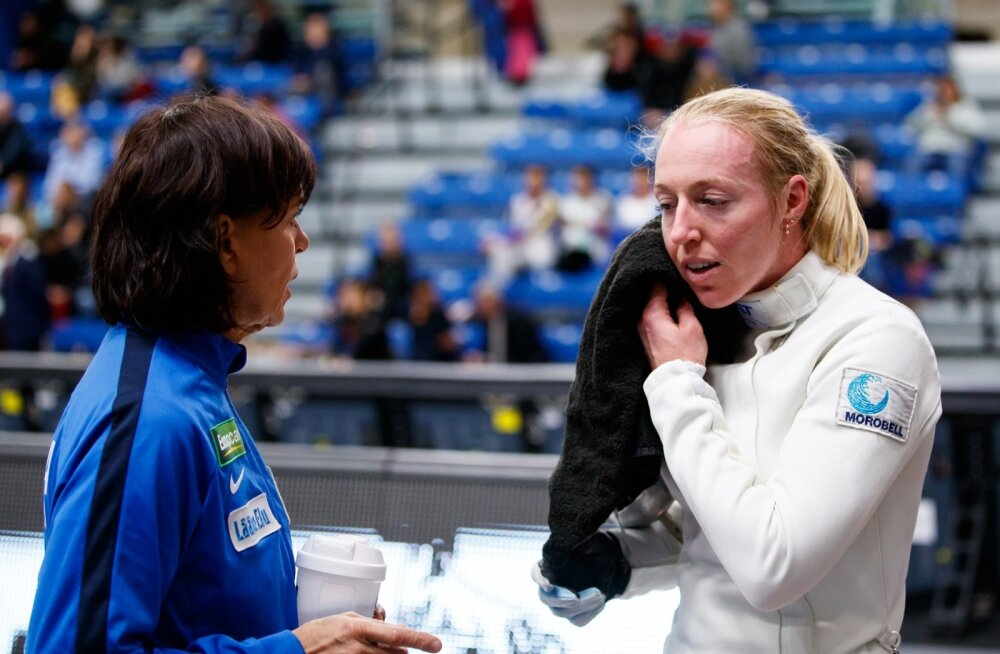 Nelli Differt ja treener Helen Nelis-Naukas kuuluvad Eesti naiste koondises omamoodi opositsiooni.
