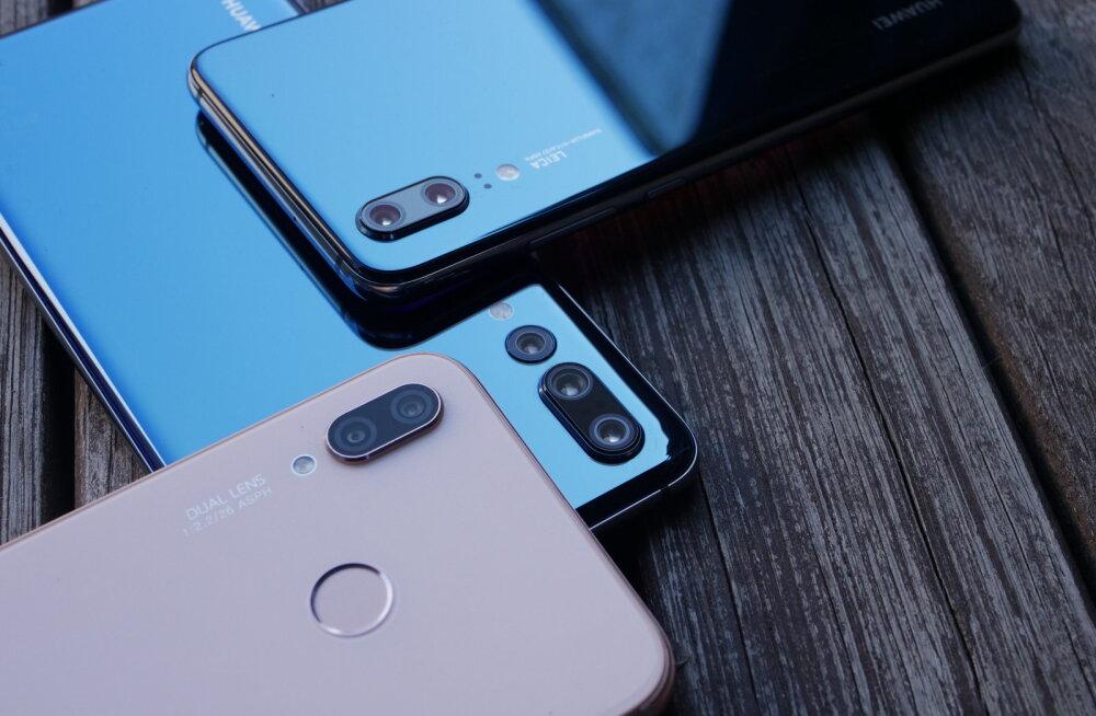 Uus Hiina pere Eesti turul – Huawei P20, P20 Pro ja P20 Lite