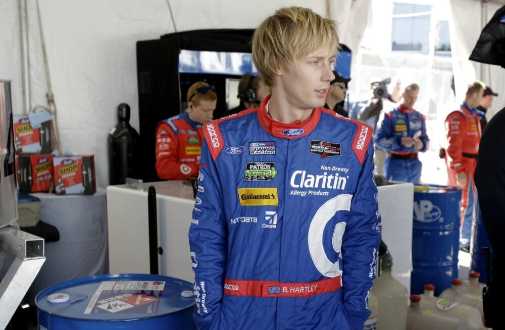 F1 sarjas debüteeriv Brendon Hartley