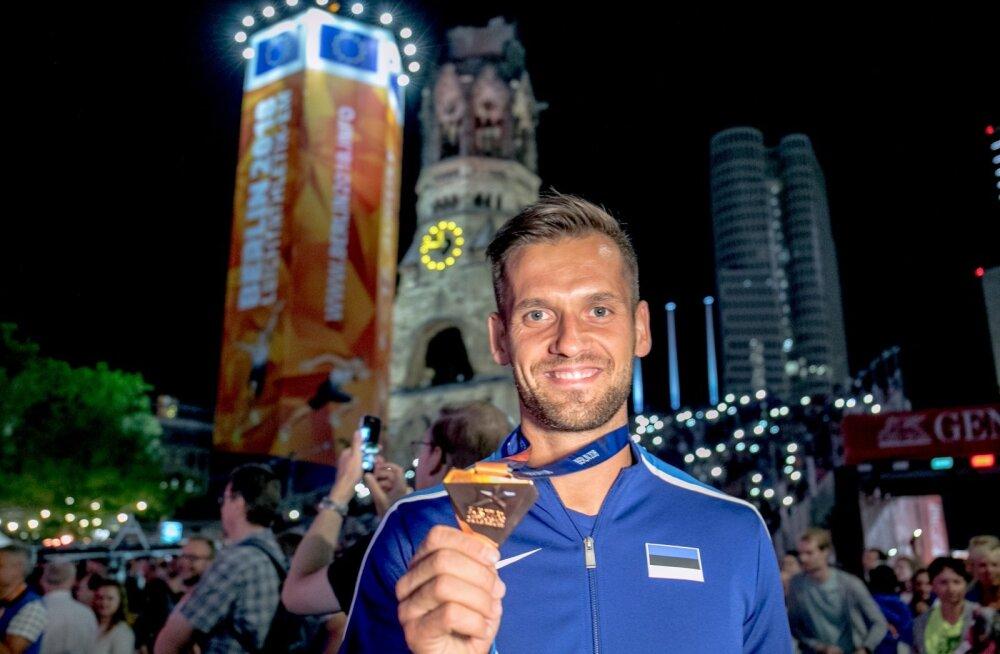 Magnus Kirt tõi EM-ilt Eestile ainsa medali.