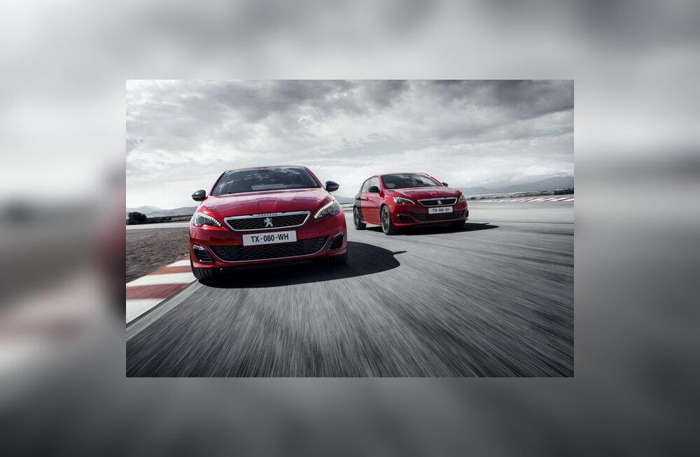 Peugeot tutvustas luukpära 308 GTi