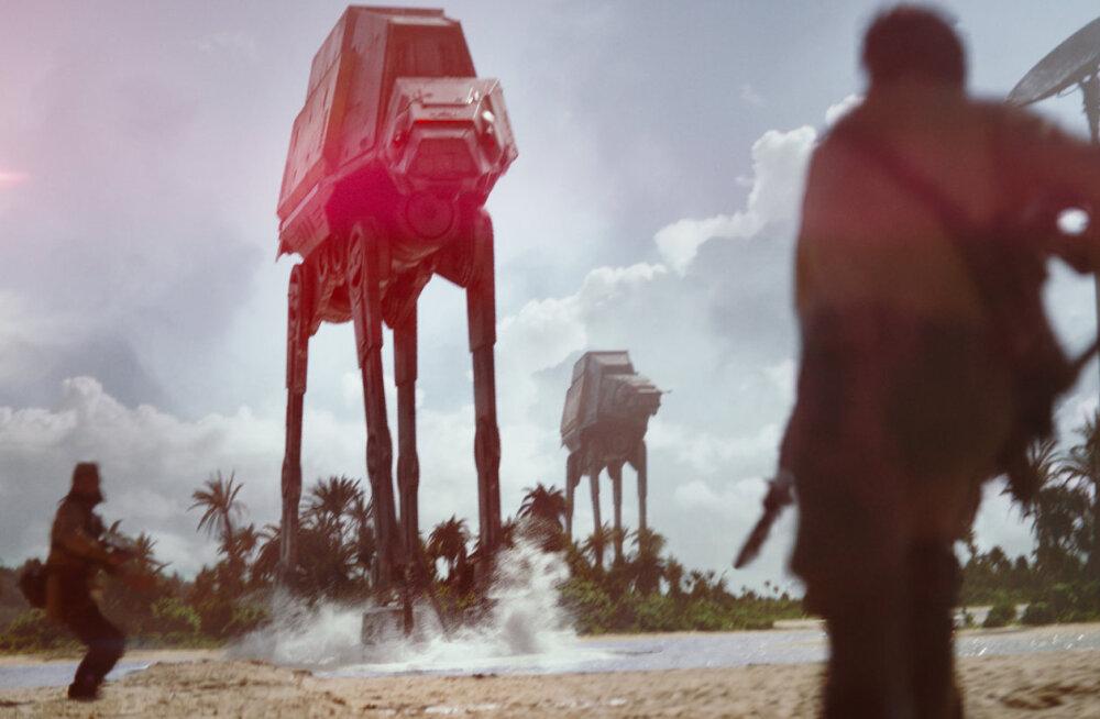"""Nädalavahetuse TOP7: """"Star Warsi"""" vastu ei saa isegi liigutav muusikafilm"""